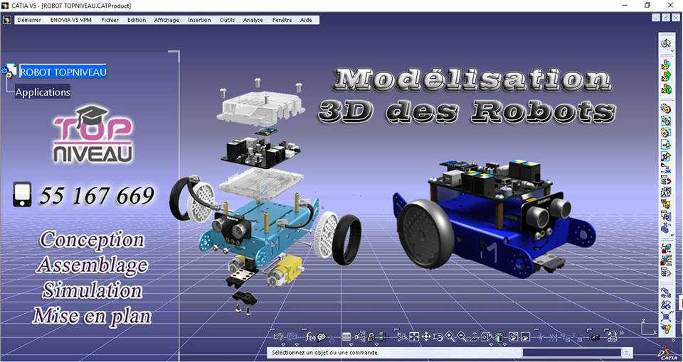 formation robotique catia V5