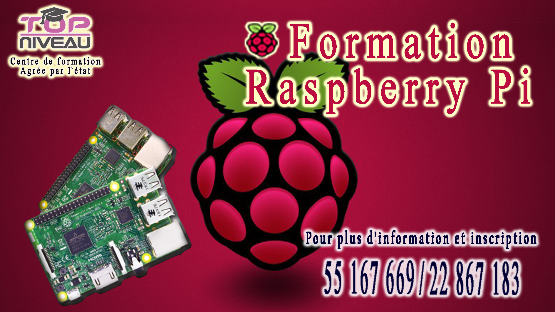 Formation Raspberry Pi3