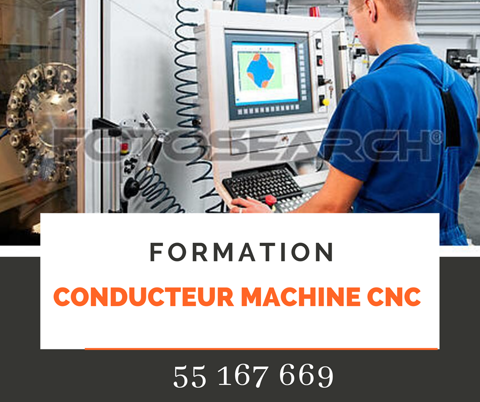 Formation Conducteur Machine CNC